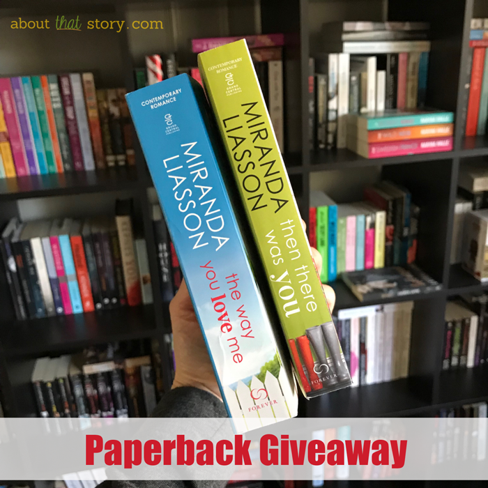 Paperback Giveaway   About That Story