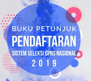 petunjuk pendaftaran CPNS 2019