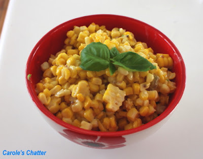 Carole's Chatter: Curry Easy Corn