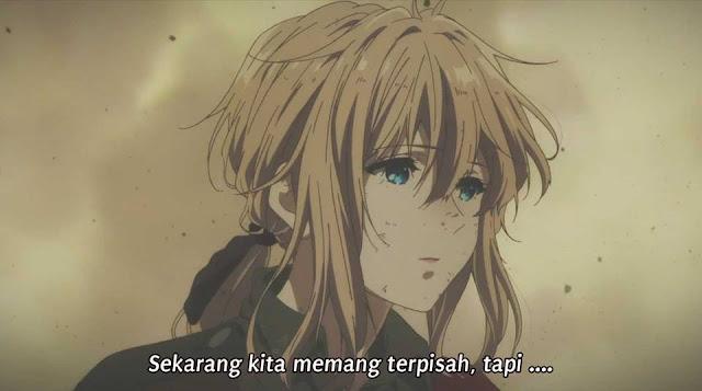 Violet Evergarden Episode 01 Subtitle Indonesia