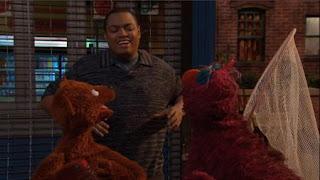 Telly, Baby Bear, Chris, Sesame Street Episode 4410 Firefly Show season 44