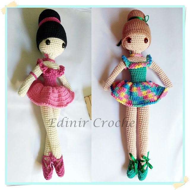 Como fazer boneca de croche passo a passo edinir croche parte cabeça
