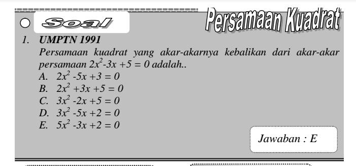 cara Cepat Matematika