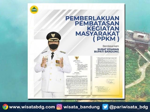 Aturan Tempat-Tempat Wisata Ciwidey dan Sekitarnya Selama Masa PPKM 11 - 25 Januari 2021