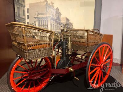 Museo de Historia de la Automoción primeros ingenios a motor