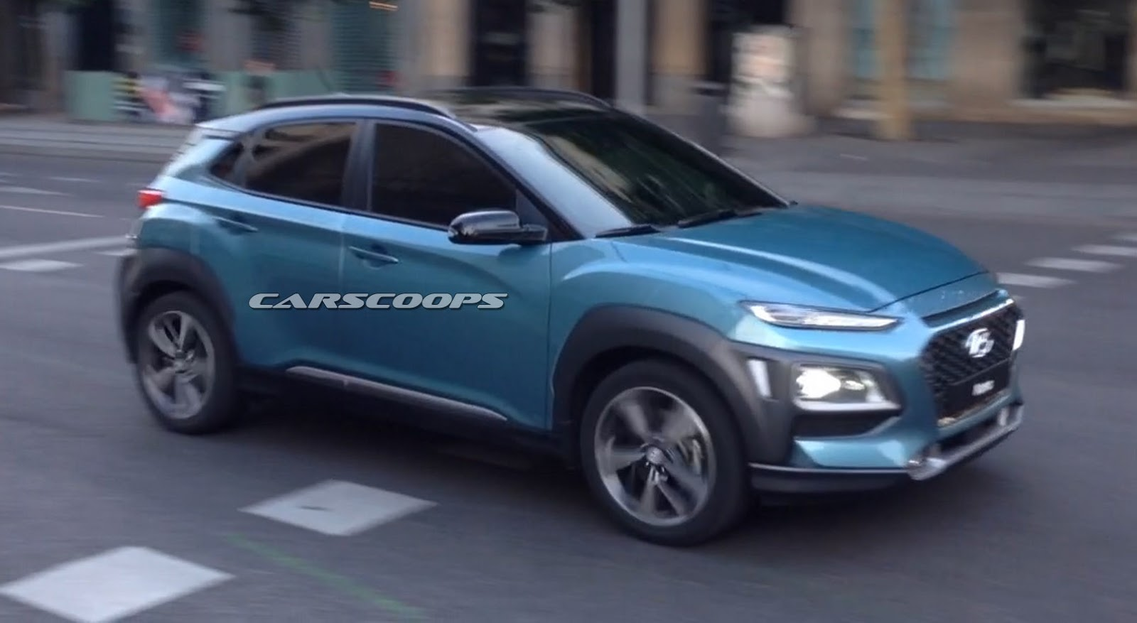 Exclusive New 2018 Hyundai Kona Captured Completely