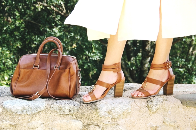 Stradivarius tsanta.Stradivarius brown bag.Voi&Noi sandals.
