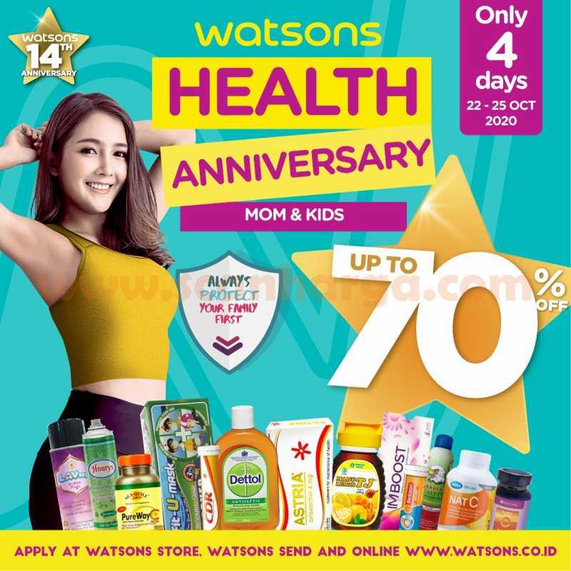 Promo Jsm Watsons Weekend Special (WES) Periode 22 - 25 Oktober 2020