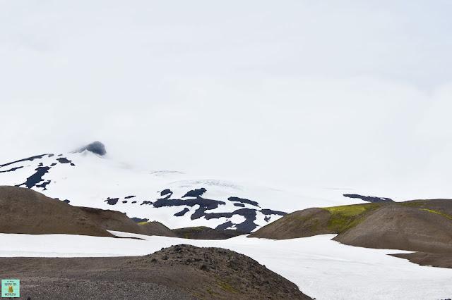 Snaefellsjökull en Snaefellsnes
