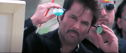 manju bhai opening sunglasses, Anil kapoor as majnu bhai | best meme templates from welcome movie + dialogue