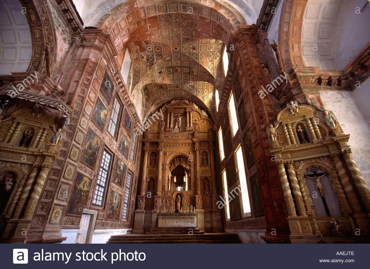 Awe Inspiring The Church Of St Francis Of Assisi Goa Navrang India