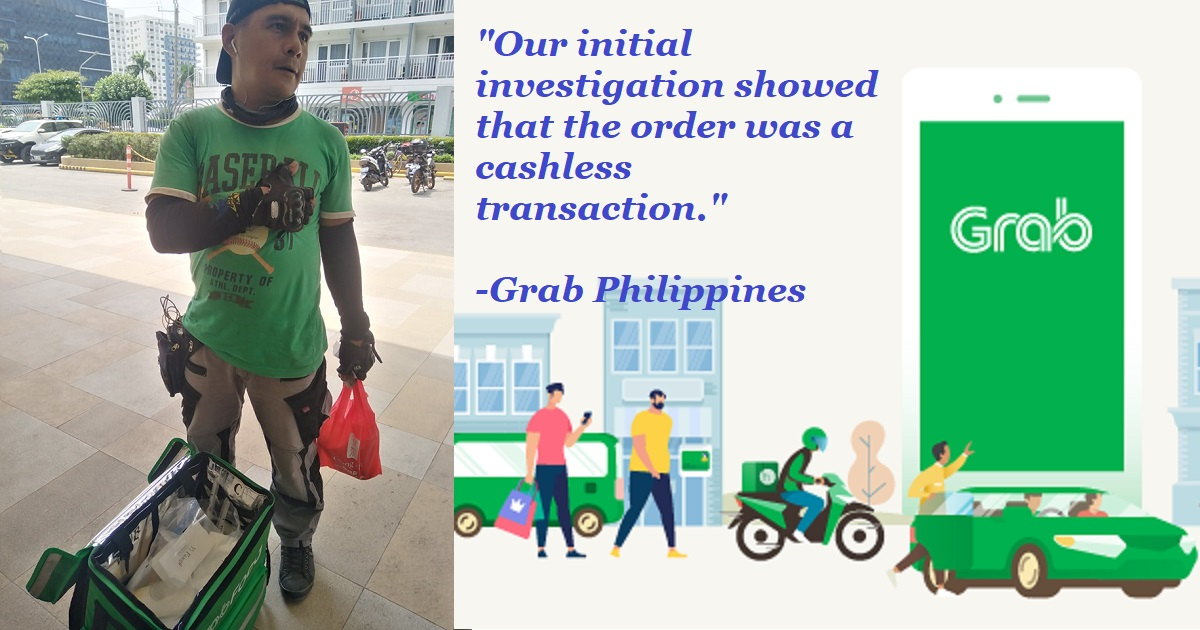 Grab PH reveals what actually happened in alleged unclaimed milk tea order