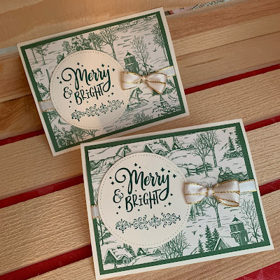 Easy Stampin' Up! Christmas Cards