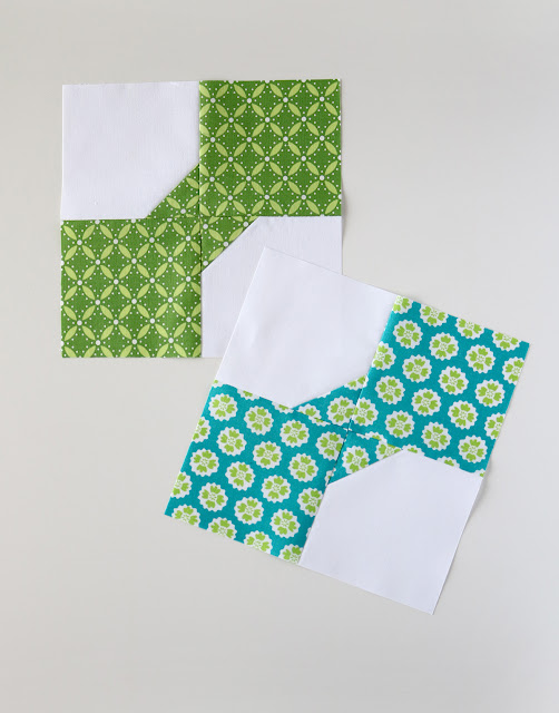 Bow Tie block and quilt pattern from A Bright Corner