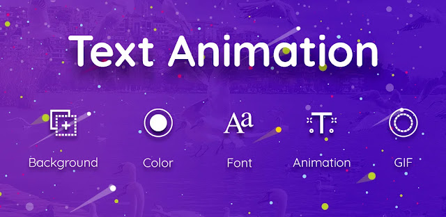 تنزيل Text Animation GIF Maker  - برنامج إنشاء نص متحرك بتنسيق GIF لنظام الاندرويد