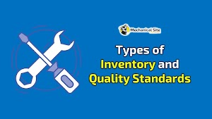 Types of Inventory and Quality Standards