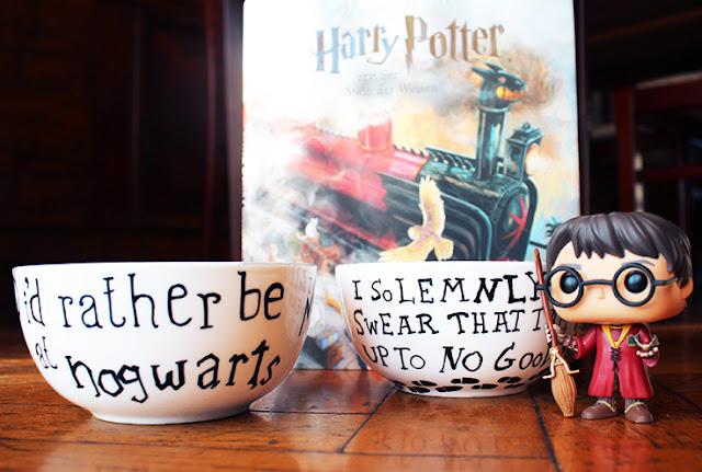 DIY Geschenk Harry Potter Schüsseln