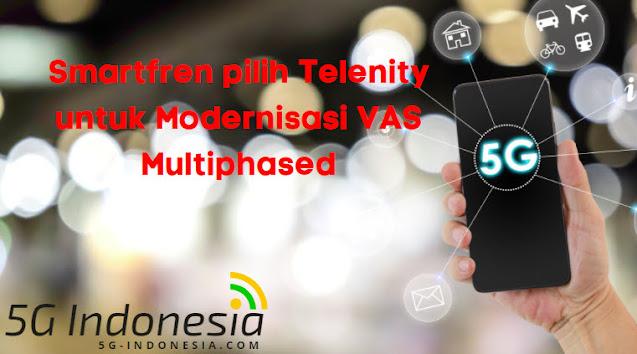 Smartfren pilih Telenity untuk Modernisasi VAS Multiphased