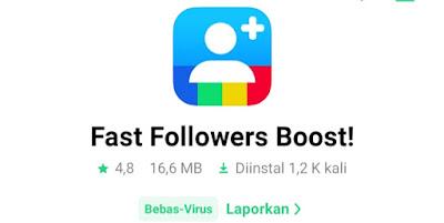 Aplikasi penambah like Instagram Gratis Aplikasi Followers Boster