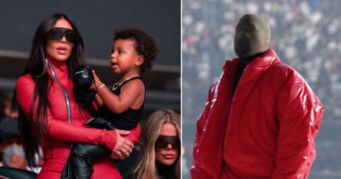 Kim Kardashian acompaña a Kanye West en el lanzamiento de 'Donda'