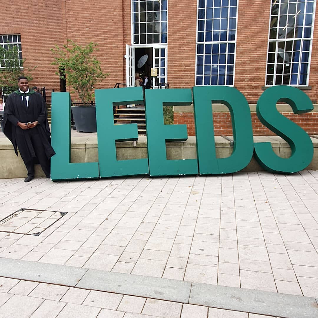 Dele Momodu's Son Graduates From University Of Leeds UK - Photos
