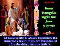 Resultado de imagen para EN aquel tiempo, Jesús dijo a los judíos: «Mi Padre sigue actuando, y yo también actúo