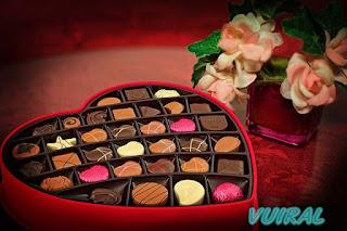 Berbagi coklat untuk merayakan Valentine Day