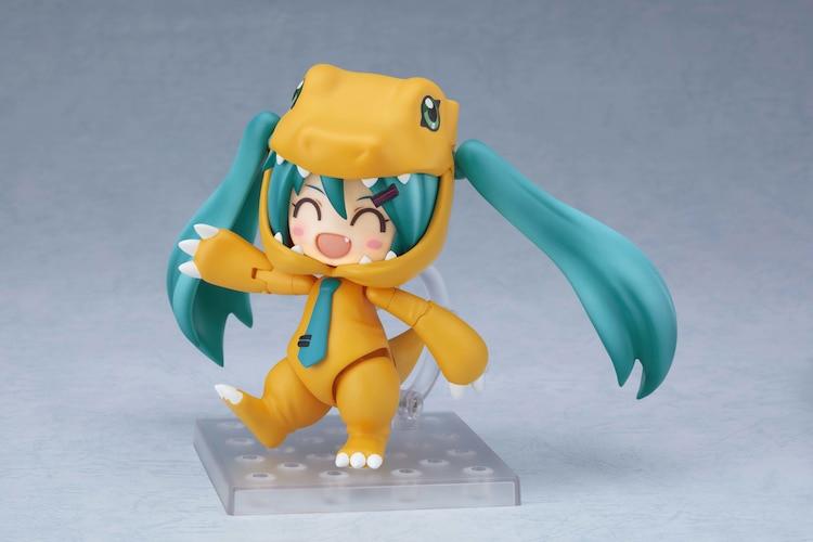 Nendoroid Hatsune Miku Kolaborasi Dengan Digimon
