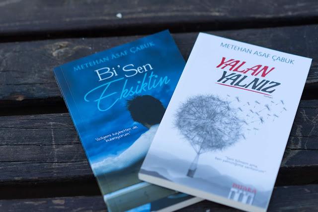 Yazar Metehan Asaf Çabuk'un Yayımlanmış Kitapları