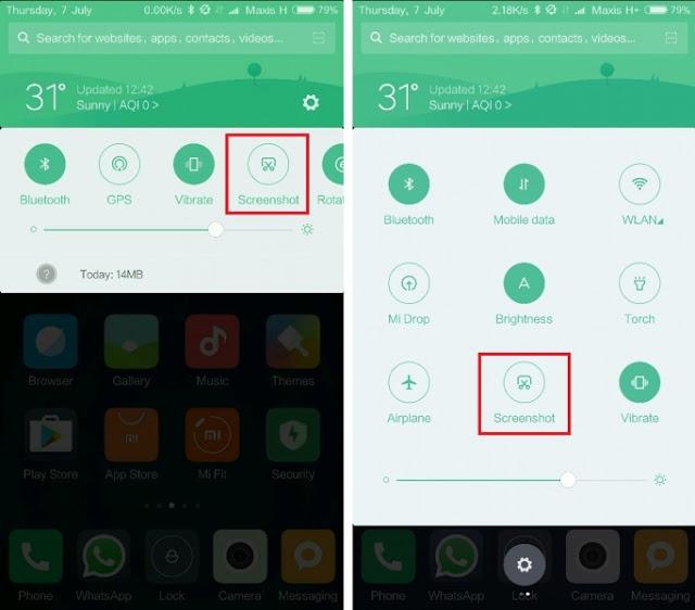 Berikut 4 Cara Screenshot Pada Smartphone Xiaomi