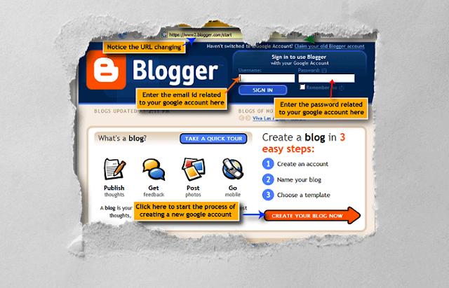 Eski Blogger (Old Blogger.com)
