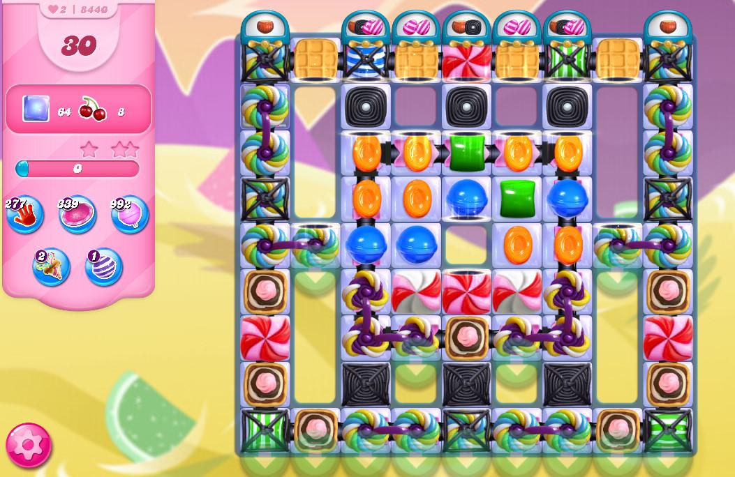 Candy Crush Saga level 8440