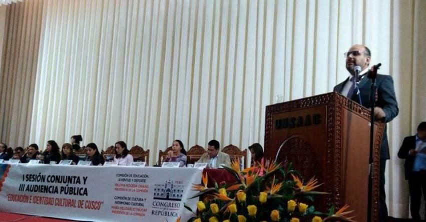 MINEDU: Ministro de Educación Daniel Alfaro afirma que se consolidará una reforma integral de la educación superior - www.minedu.gob.pe
