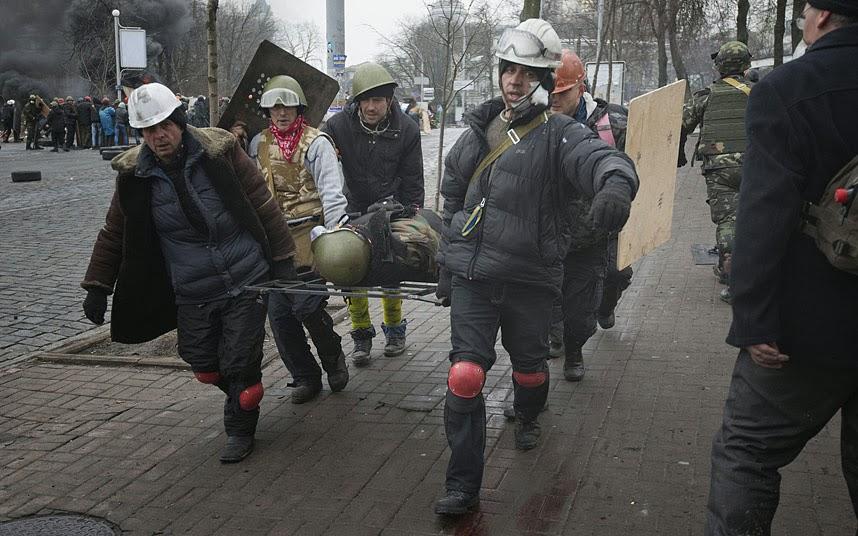 Russia And Ukraine February 2014