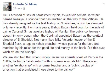 Power Corrupts: Former President Erap Estrada and Bishop Bacani's Scandals Revealed!