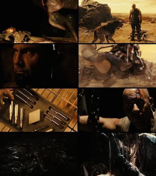Riddick Bluray Dual Audio 480p 350mb
