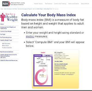 How to gain weight check your BMI