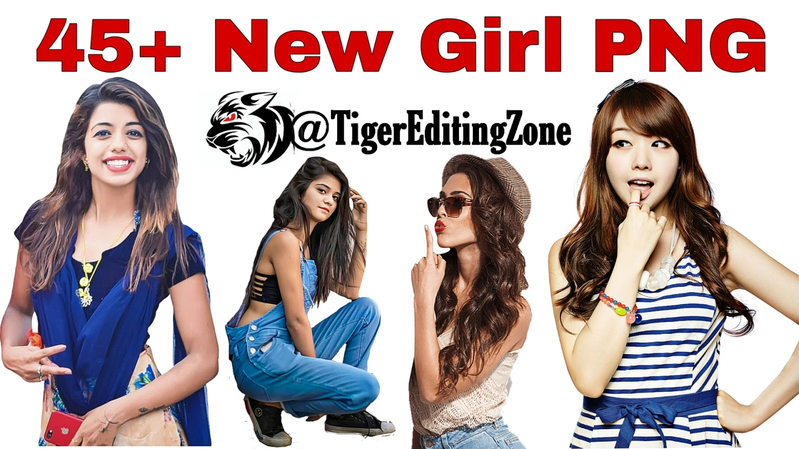 45 New Girl PNG for Editing in PicsArt and Photoshop 2020 1