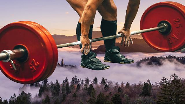 Exercising Weight Deadlift