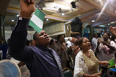Church goers in nigeria and christianity
