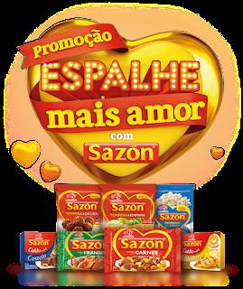 Promoção Sazon Espalhe Mais Amor
