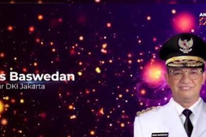 Anies Baswedan Dinobatkan Jadi Gubernur Terpopuler Di Media Digital 2020