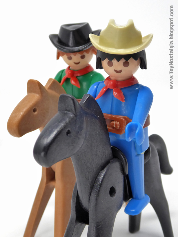 Horse riders Playmobil 3241 western cowboys