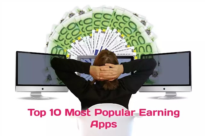Top 10 Most Popular Earning Apps ( in Hindi )