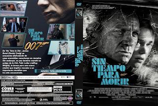 CARATULA SIN TIEMPO PARA MORIR - NO TIME TO DIE2020[COVER DVD]