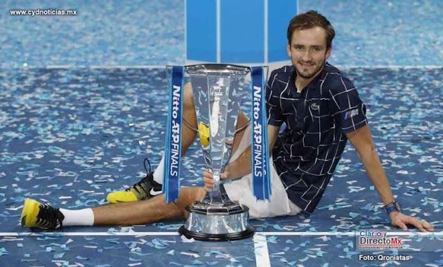 ATP Finals 2020 - Daniil Medvedev es el nuevo maestro del tenis mundial