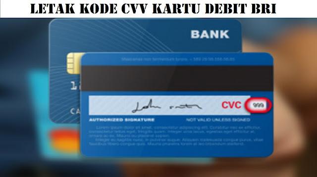 CVV Kartu Debit BRI