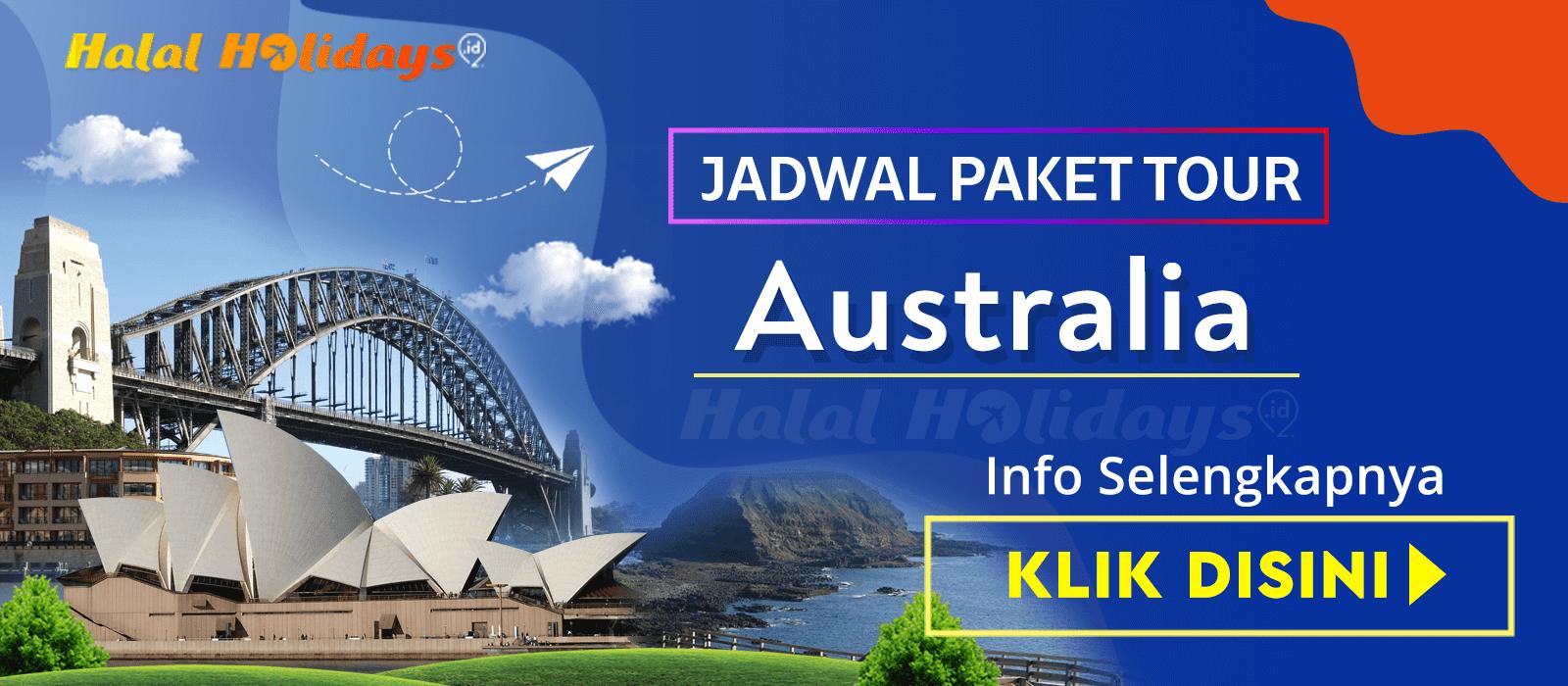 Paket Wisata Halal Tour Australia Murah Tahun 2020