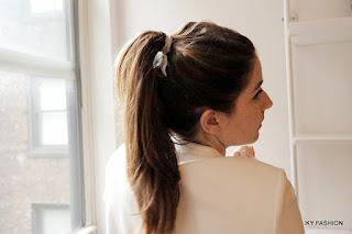 Model Rambut Panjang High Ponytail cewek kekinian