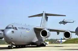 Indian Air Force's C-17 Globemaster Aircraft Flies to Wuhan to Aid Coronavirus Victims